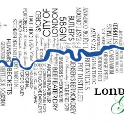 LONDON GIN wee web