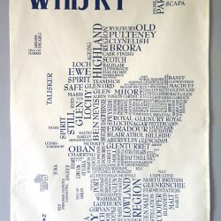 tea towel whisky wee
